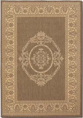 Couristan 1078 Antique Medallion 0712 Natural Cocoa