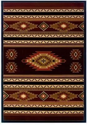 United Weavers 511-25929 Soaring Diamond Terracotta