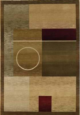 Oriental Weavers 1987G Green Brown