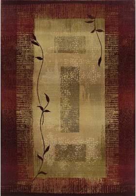 Oriental Weavers 544X1 Red Beige