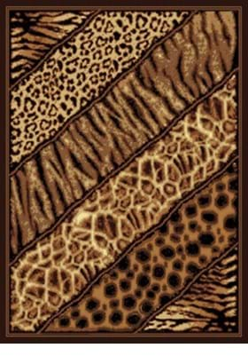 United Weavers 910-03150 Slanted Safari Brown