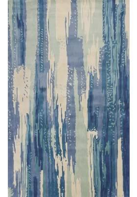 KAS Brushstroke 3004 Ivory Blue