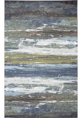 American Rug Craftsmen Abstract Shore 11791 Blue Spa 469