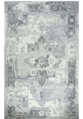 Dynamic Rugs 88801 119 Silver Ivory