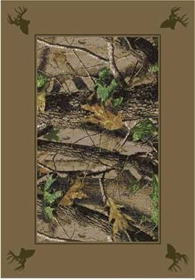 Milliken Hardwood Green Solid Border 534711 65242