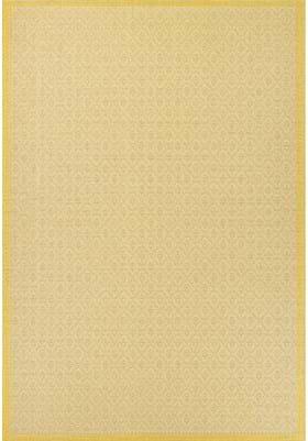 Couristan 7949 Sea Pier 1683 Sand Lemon