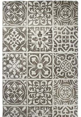 Dynamic Rugs 92334 650 Silver Charcoal