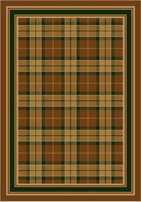 Milliken Magee Plaid 8473 Golden Amber 5406