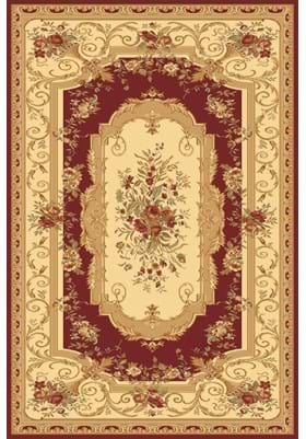 Rugs America 2513 Aubusson Red