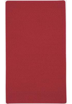Capel Manteo Dark Red Cross Sewn Rectangle