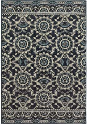 Oriental Weavers 7842A Navy Grey