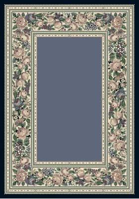 Milliken English Floral 4500 Lapis 7000