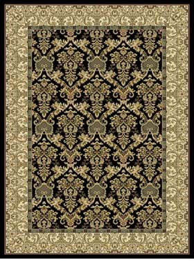 Central Oriental Elegant Ivy 2072 Black