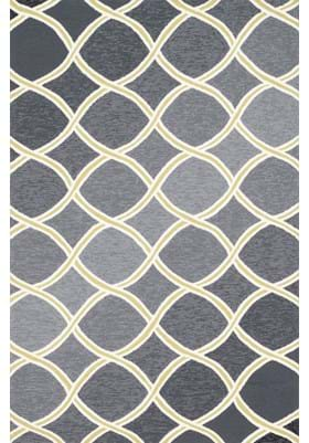 Loloi Rugs VB-18 Charcoal Lime