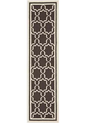 Safavieh DHU545A Chocolate Ivory
