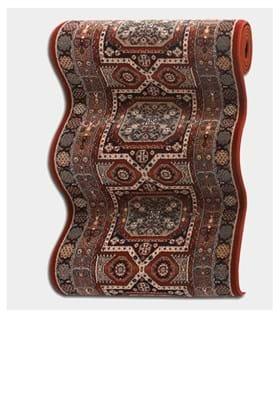 Couristan 4324 Maharaja B300A Burgundy