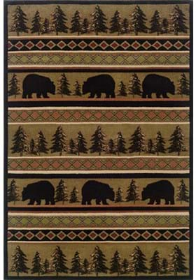 Oriental Weavers 1066A Brown
