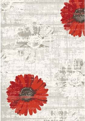 Dynamic Rugs 35009 1250 Ivory Red