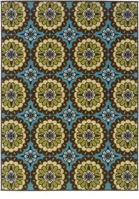 Oriental Weavers 8328L Blue Brown