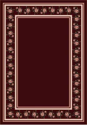 Milliken Rosalie 8481 Garnet 10006