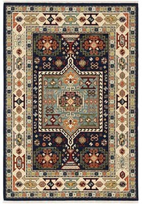 Oriental Weavers 41H Blue