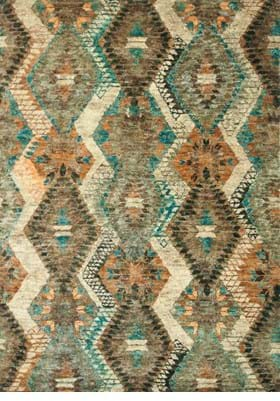 Loloi Rugs XV-07 Tobacco Blue