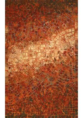 Trans Ocean Arch Tile 325724 Red