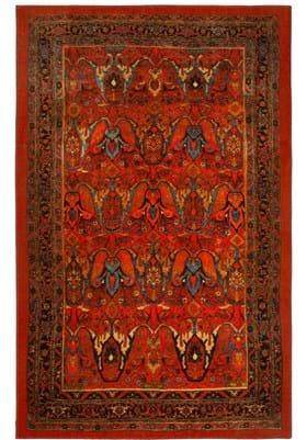 Karastan Susa ZS006 Red A400