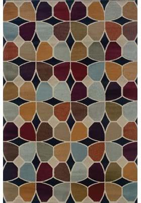 Oriental Weavers 3836E Multi Stone