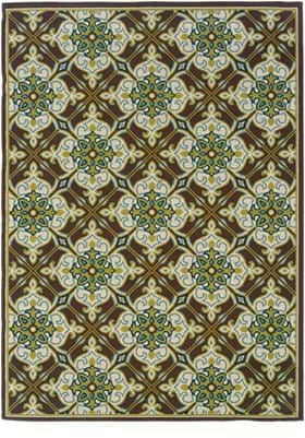 Oriental Weavers 1005D Brown Ivory