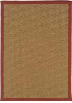 Oriental Weavers 525O8 Rust