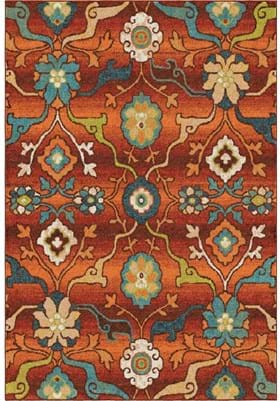 Orian Rugs Tibet 2826 Red