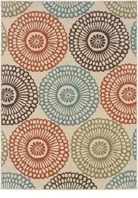 Oriental Weavers 697J6 Ivory Multi
