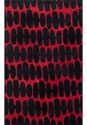 Loloi Rugs NV-05 Black Red