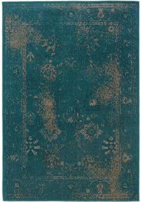Oriental Weavers 3690D Teal Grey
