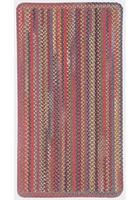 Capel High Rock Red Vertical Stripe Rectangle