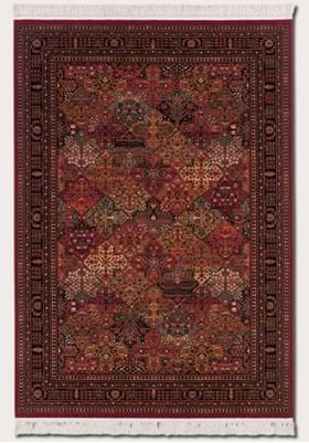 Couristan 8143 Imperial Baktiari 3203 Antique Red