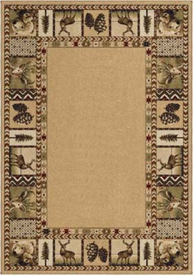 Orian Rugs High Country 2610 Praline