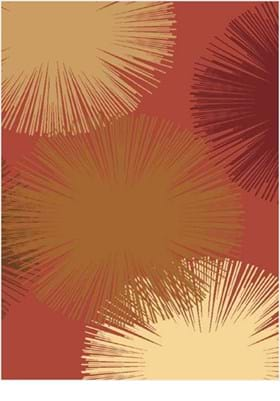 Rugs America Fireworks 2279 Rose