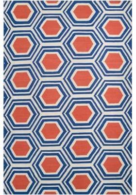 Surya FAL-1035 Blue Orange Red