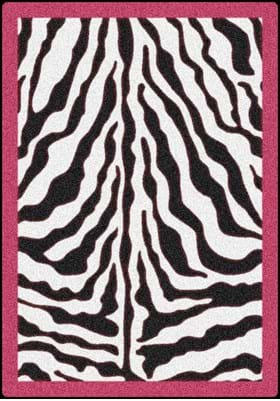 Milliken Zebra Glam 6831 Pink Passion 2