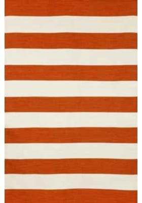 Trans Ocean Rugby Stripe 630217 Paprika