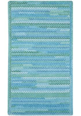 Capel Waterway Blue Cross Sewn Rectangle