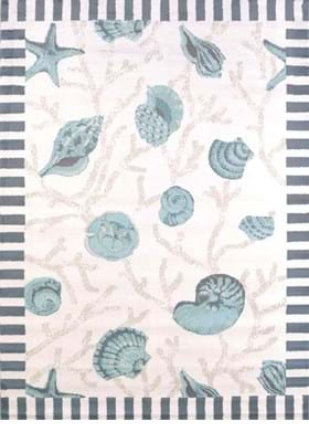 United Weavers 541-50660 Shells Blue