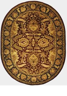 Safavieh CL239B Burgundy Gold