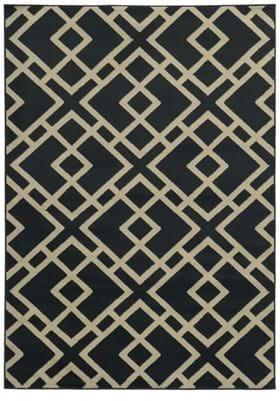 Oriental Weavers 3685H Navy Beige