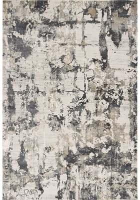 KAS 7017 Ivory Gray Watercolors