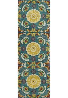 Kaleen GLB06 78 Turquoise