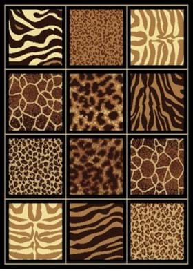 United Weavers 910-03450 Safari Square Brown