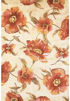 KAS Poppies 766 Ivory